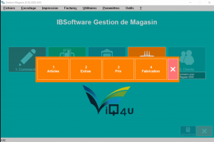 Gestion Magasin articles